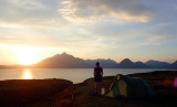 May 18 Elgol coast camp