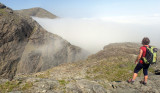 Jun 18 Skye- Sgurr nan Gillean starting on pinnacle ridge
