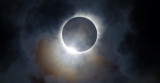 Solar Eclipse Diamond Ring Effect - Wide