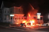 Webster MA - Vehicle fire with extension, Veteran's Way at Negus St. - June 27, 2017