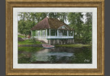 Country house on the lake
