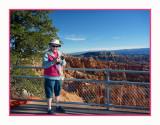 17 10 P1040444 Helen at Bryce Canyon