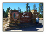 17 10 P1040454 Helen at Bryce Canyon