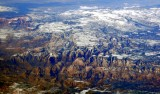 Zion National Park Utah from 43000 feet 170