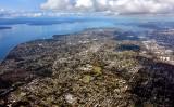 West Seattle from 4000 feet