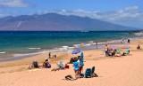 Wailea-Ekahi Public Beach and looking at Lanai from Maui 098