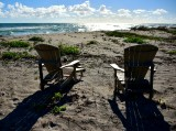 Beach Chairs on Jupiter Island Florida 042