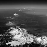 Mt Bachelor, Three Sisters, Mt Jefferson, Mt Hood, Mt Adams, Mt Rainier, Mt St Helens, Cascade Mountain Range, Ring of Fire402