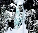 Ice falls on Lemah Mountain Cascade Mountains Washington 205