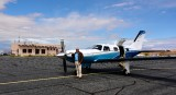 Charlie at Cal Black Memorial Airport Halls Crossing Utah 373