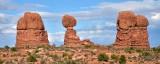 Balanced Rock at Arches National Park Moab Utah 818