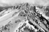 Spire Mountain in the Cascade Mountains Range Washignton 548