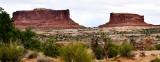 Merrimac Butte Monitor Butte Sevemile Canyon Moab Utah 030