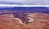 Buck Canyon White Rim Colorado River  Canyonlands National Park Moab Utah 238