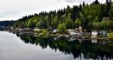 Glassy Water landing along Lake Sammamish Washington 051