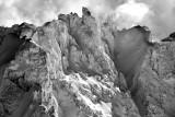 Vertical Wall on Mount Constance in Olympic Mountains 727