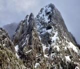 Garfield Mountain part of Cascade Mountains Washington 101