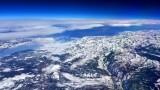 High over Sierra Nevada Mammoth  California 042
