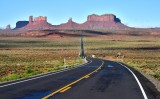 Monument Valley from Forrest Gump Hill on Highway 163 Navajo Nation Utah 024