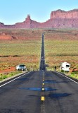 Highway 163 from Forrest Gump Hill and Monument Valley Navajo Nation 042