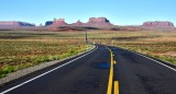 Monument Valley from Forrest Gump Hill on Highway 163 Navajo Nation Utah 026