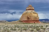 Church Rock in Peters Canyon of Dry Valley Utah 177