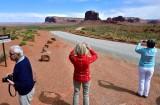 Charlie Nancy Katherine at Monument Valley Navajo Tribal Park 516