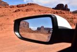 Merrick Butte and West Mittten Butte in Mirror 555
