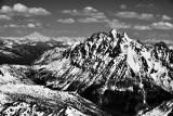 Mount Stuart and Glacier Peak in Cascade Mountains Washington 241