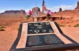 Ericson Cly Memorial at John Fords Point Monument Valley Navajo Tribal Park 592