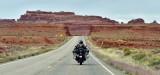 Motorcycle Road Trip on US Highway 163 nearby Valley of the Gods Utah 130