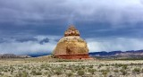 Church Rock in Peters Canyon of Dry Valley Utah 182
