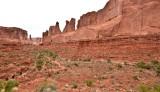 Park Avenue Trail  at Arches National Park Moab Utah 267