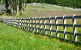 Fences on horse farm 267