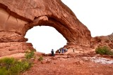 North Window Arch in Arches National Park Utah 380