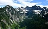 Burntboot Peak and Creek, Overcoat Peak, Iceberg Lake, Chimney Rock, Lemah Mountain 251
