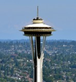 Space Needle and Mt Baker Seattle Washington 133