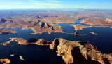 Gooseneck Point Adeiyi Taah Hoot Rainbow Plateau Lake Powell and Colorado River Utah 100