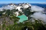 Blanca Lake Columbia Glacier Columbia Peak Wilman Peak Monte Cristo Peak Keyes Peak 404