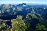 Jack Ridge and Mt Stuart of the Stuart Range Washington 387