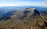Mt St Helens and Mt Hood Washington 525