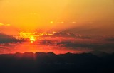 Sunrise over Cascade Mountains 011