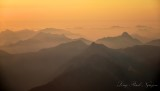 Golden Sunset on Central Cascade Mountains Washington 085