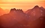 Gothic Peak Foggy Pass Foggy Lake Del Campo Peak at Sunset 251