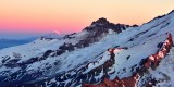 Mount Rainier National Park The Wedge Emmons Glacier Little Tahoma Mt Adams at Sunset 137