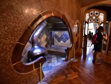 Casa Batllo Fireplace  Barcelona Spain 057