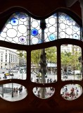 Casa Batllo Front Window  Barcelona Spain 087