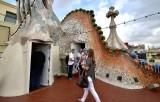 Casa Batllo Gaudi Dragon Barcelona Spain 177