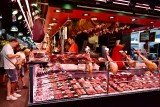 Butcher Shop in La Boqueria Barcelona 453