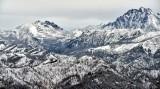Eastern Cascade Mountains and Mountain Stuart, Washington